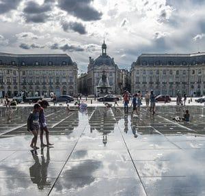 Bordeaux Centre Miroir Bourse