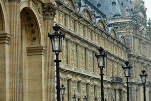 Paris Auteuil Lampadaires
