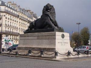 Denfert Lion