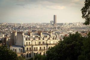 Montparnasse toits de Paris