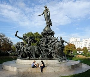 Paris Nation Monument