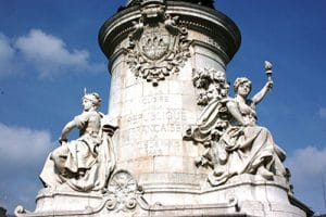 Paris République monument