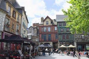 Rennes Maison Architecture Ville
