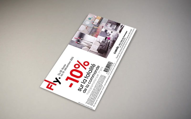 Impression flyer promotionnel
