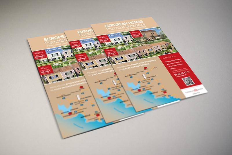 Impression flyers informatifs