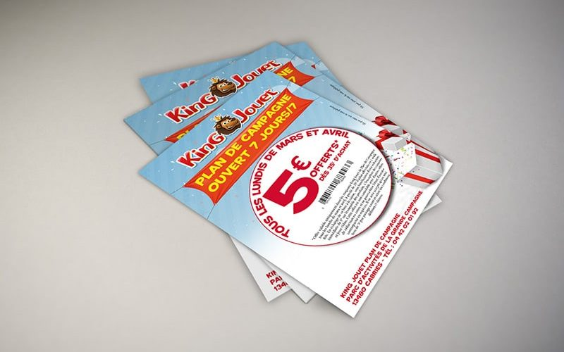 Impression flyers promotionnels
