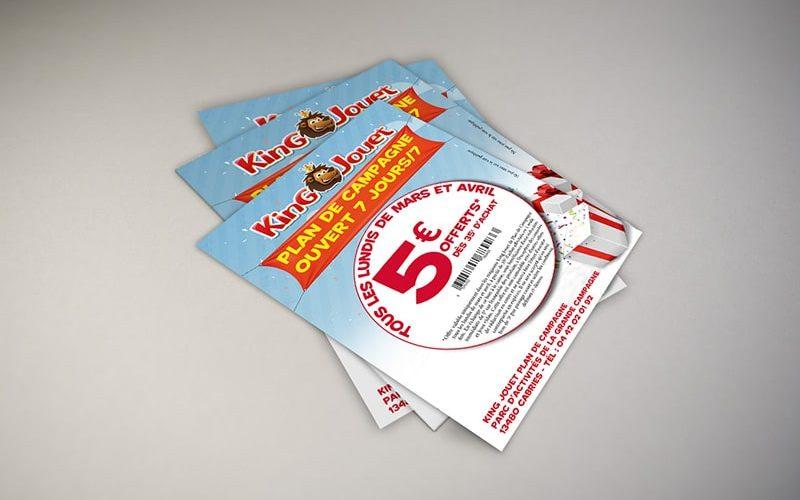 Impression flyers promotionnels