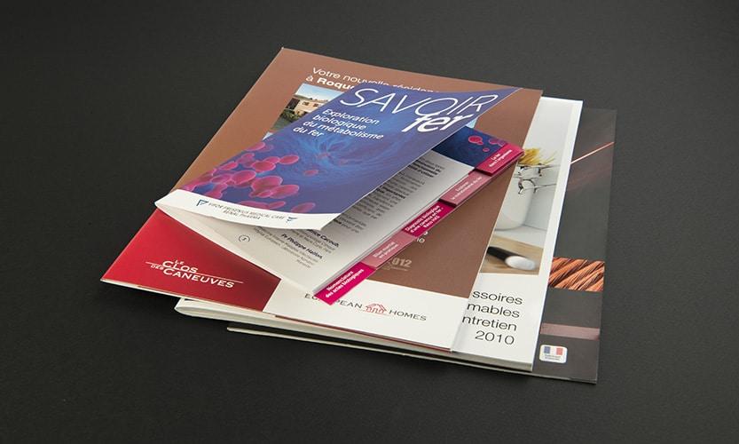 Impression brochures