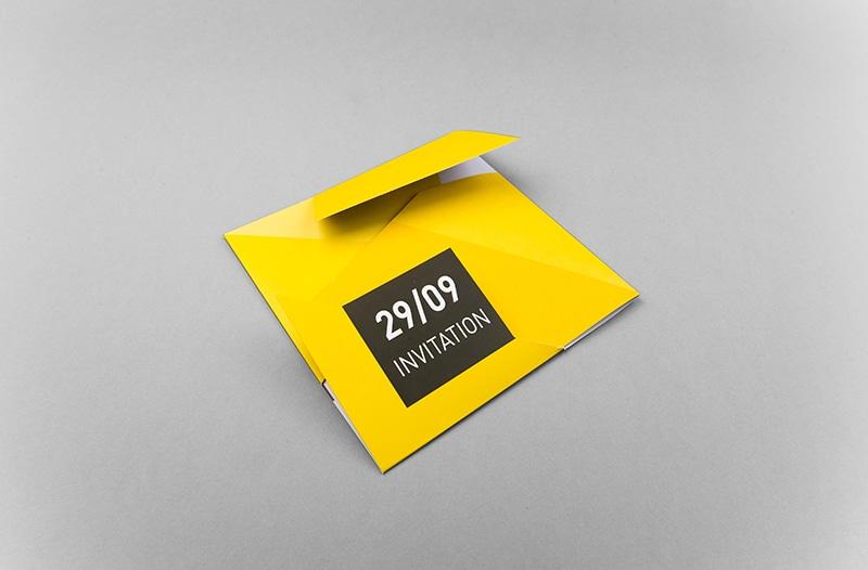 Impression carton d'invitation
