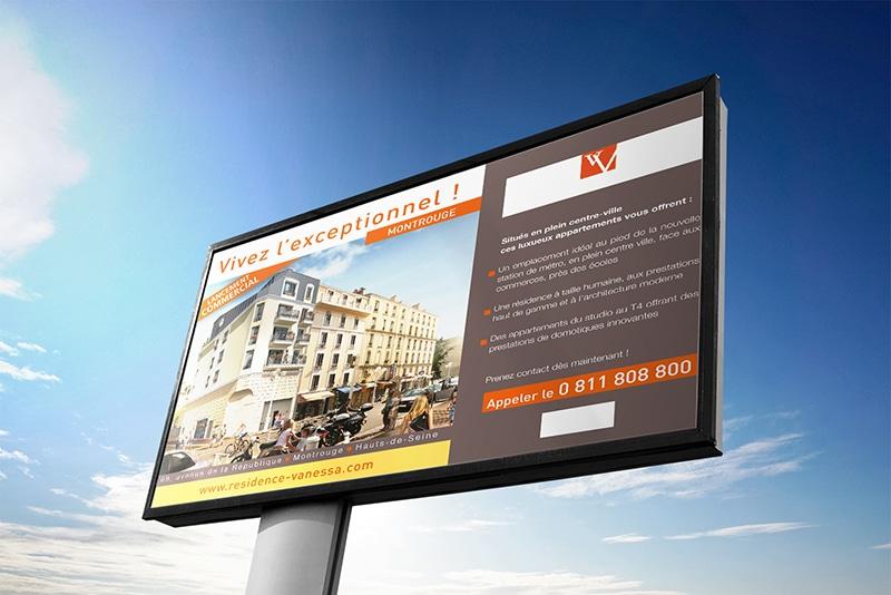 Impression panneaux immobilier