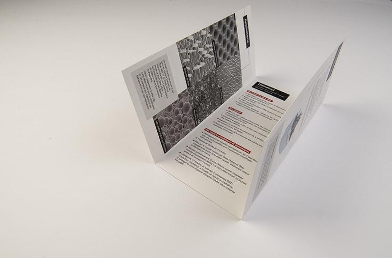 Impression plaquette chemise 3 volets